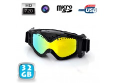 lunettes camera sport embarquee masque de ski