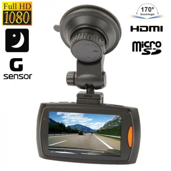 Dashcam voiture caméra boite noire auto Full HD 1080p vision nocturne