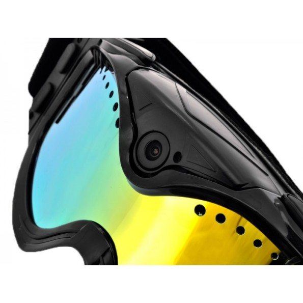 caméra sport ski masque