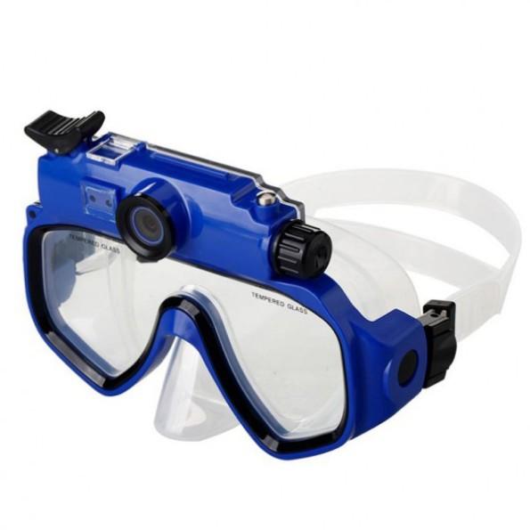Le masque de plongé camera pour immortaliser tous les moments passés sous l'eau !